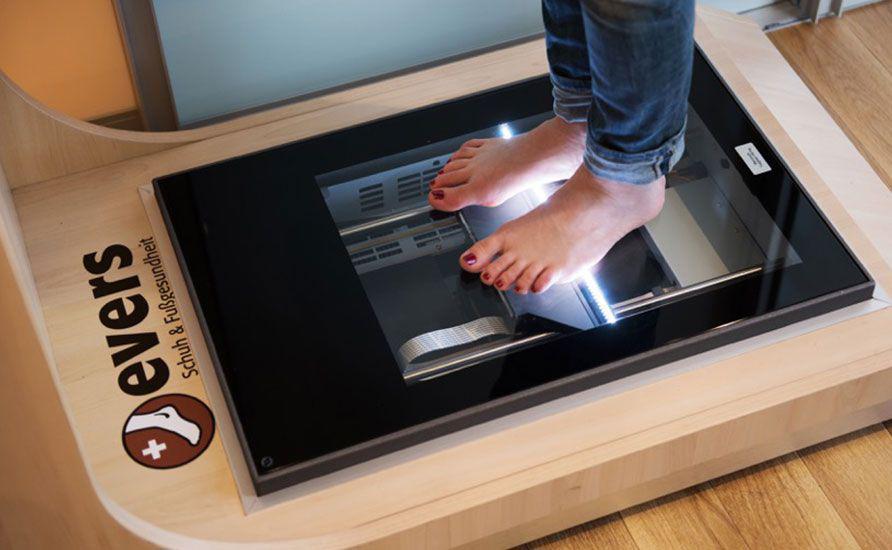Bild Scann für neue Schuheinlagen | © evers Schuh & Fußgesundheit
